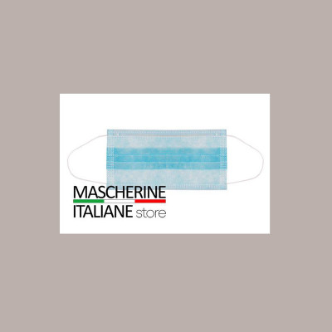 Maschera Chirurgica certificata CE 3 Veli TNT x 5 pz.